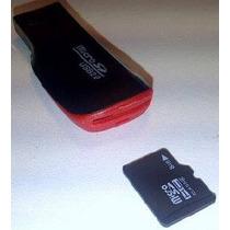 Lector Memoria Micro Sd Usb Celular Pc Laptop Pen Drive Ccc
