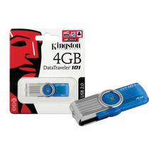 Pendrive Kingston 4 Gb Data Traveler 101 Gen 2 Blue