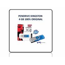 Pendrive Kingston 4gb Y 8gb 100% Original Nuevos