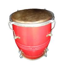 Tambor De Percusión Doble Cuero Golperas Y Merengueras