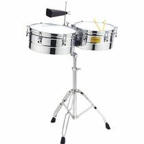 Timbales Tycoon Percusión 14 Y 15 Pullgadas Tyc-tti-1415c