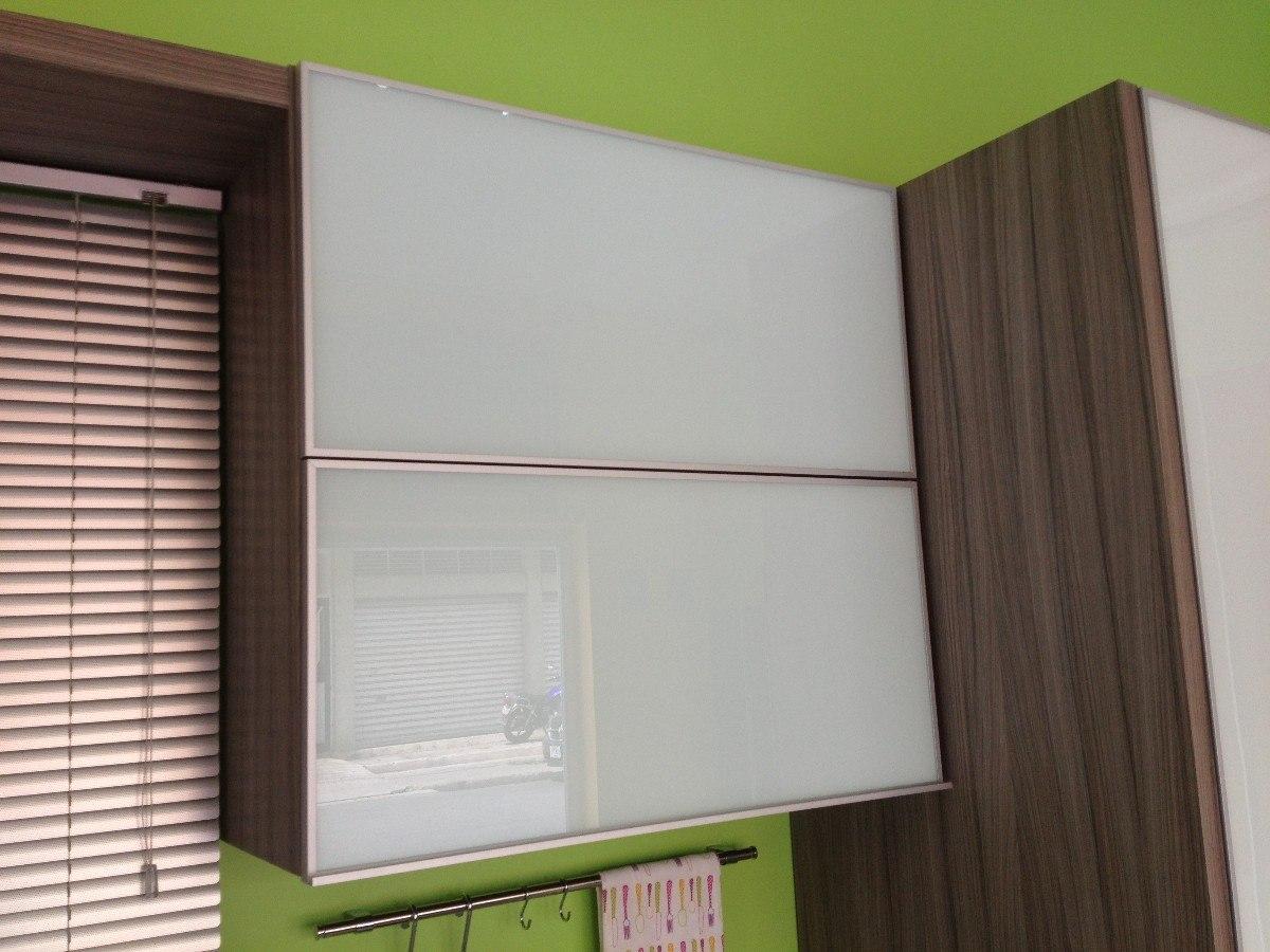 Perfil de aluminio para puerta de vidrio herrajes de for Muebles de cocina con puertas de cristal
