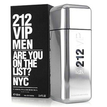 Perfume 212 Vip De Carolina Herrera 100 Ml