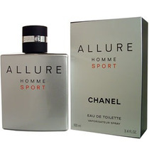 Perfume Allure De Chanel Para Hombre, 100ml