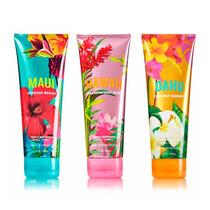 Cremas Bath & Body Works Triple Hidratacion Importadas D Usa
