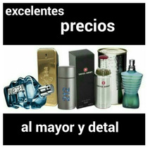 Perfumes Originales Damas Caballeros Mayor Y Detal
