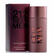 Perfume 212 Sexy Carolina Herrera Para Hombre Original 100ml