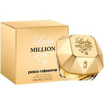 Perfume Paco Rabanne Lady Million 80ml Damas