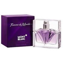 Perfume Original Mont Blanc Femme Dama 75ml Miami Fl