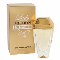 Perfumes Paco Rabanne Lady Million Eau My Gold Para Damas