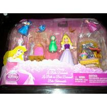 Princesas Disney Escenarios Aurora Cenicienta Y Bella