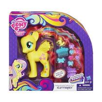 Fluttershy My Little Pony 15 Cm Y Conejo,9 Accesorios Hasbro