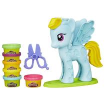 Play Doh Raibow Dash Peinado De Colores My Little Pony 18cm
