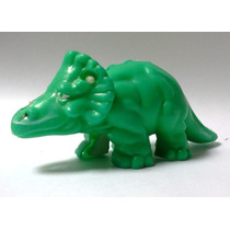 Juguete Mcdonalds Dinosaurio Verde Interior Esqueleto