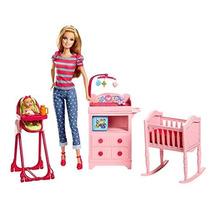 Barbie Baby Sister Mattel Accesorio Sitter Cuna Silla