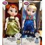 Muñeca Elsa Y Anna De Frozen Edición Animators Tienda Disney