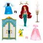 Set De Figura Princesa Disney Ariel Con Armario.100% Origina