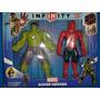 Marvel Super Heroes Infinity Hulk Y Spiderman