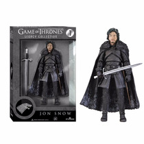 Game Of Thrones Jon Snow Figura Original De Lujo