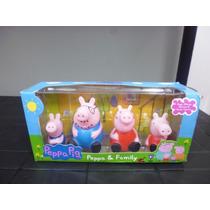 Set Figuras Juguete De Peppa Y Su Familia (peppa La Cerdita)