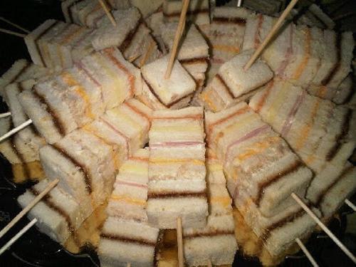 Pincho Sanduchón O Sandwichon Pasapalo Para Fiestas O Evento ...