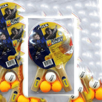 Set De Ping Pong Stiga Blast 2 Raquetas, 3 Pelotas.
