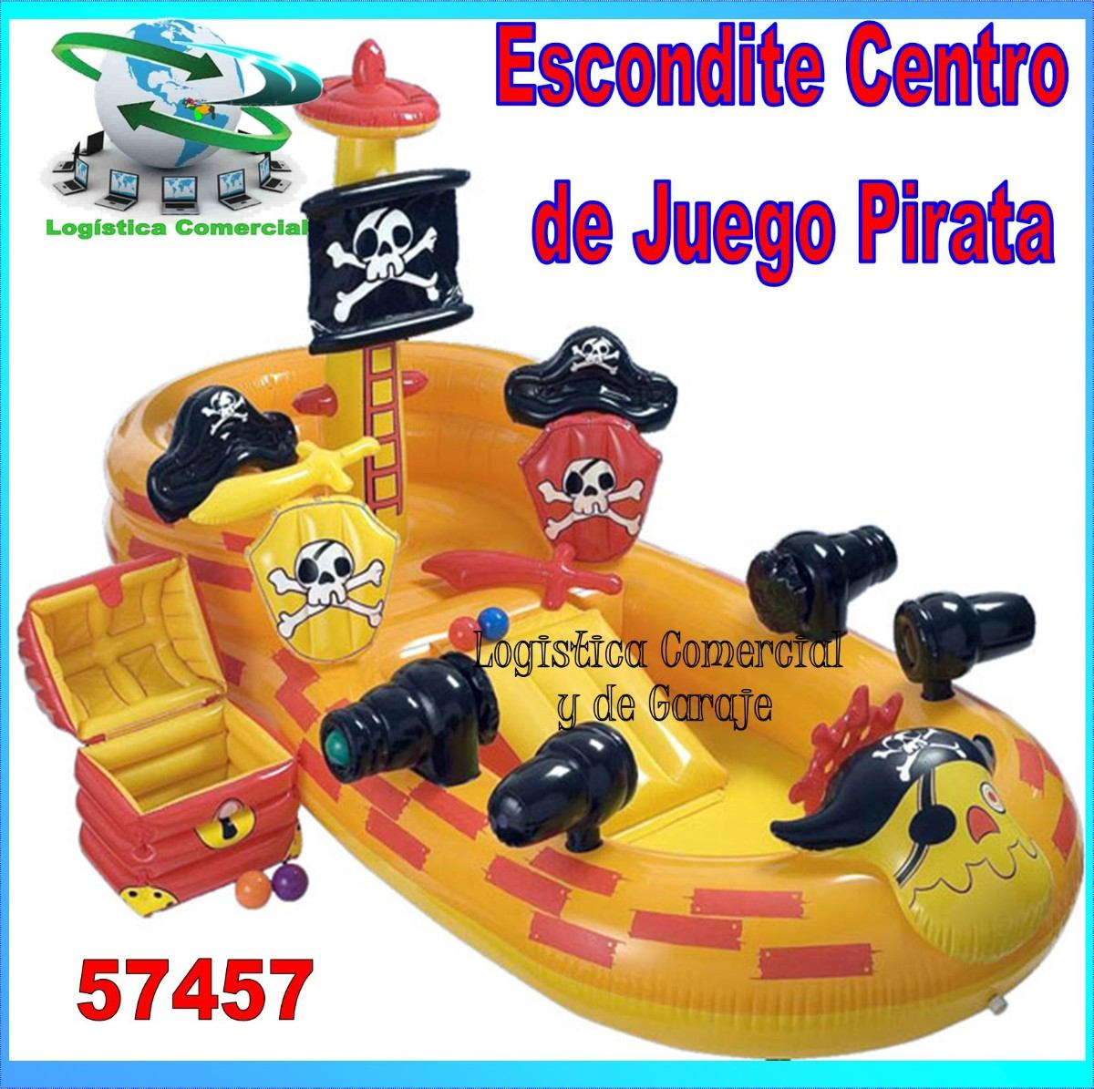 Piscina inflable centro juego accesorios piratas intex for Accesorios para piscinas intex
