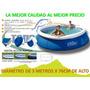 Piscina Intex 3.05 X 76 Cm Con Borde Inflable