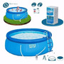 Piscina Familiar Intex 457 X 122 Cm + Accesorios