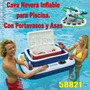 Cava Inflable Nevera Piscina Capac. 72 Latas + Hielo 58821