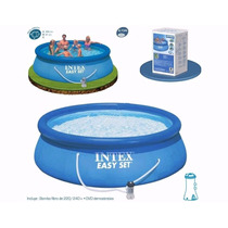 Piscina Intex Familiar Inflable 366 X 91cm + Accesorios