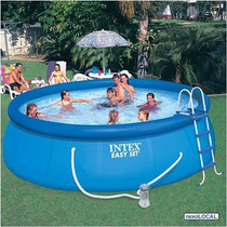 Piscina Easy Set - 457x107 - 13.210 L - Ref. 56408 - Intex
