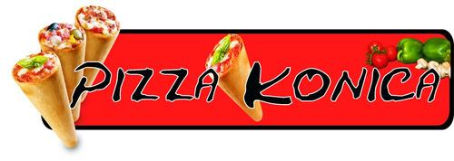 Pizza Cono Es Pizza Konica, Servicio Para Eventos