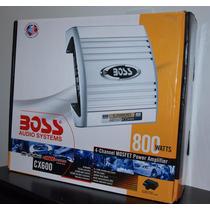Planta Boss 800 Watts 4 Canales Nueva