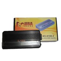 Amplificador Mura Sound Nano Series 4 Ch 1600w (marino)