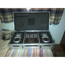 Vendo O Cambio Combo Dj Numark Mezclador + Cd Players + Case