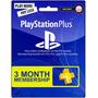 Tarjeta Playstation Network Ps3 Ps4 Suscripción 3 Meses