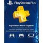 Membresia Playstation Plus 12 Meses Ps4 Psn Digital!