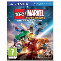 Marvel Lego Ps Vita Super Heroes Nuevo Original Y Sellado!