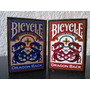Cartas Bicycle Barajas De Poker Y Magia Banck Azul Y Roja