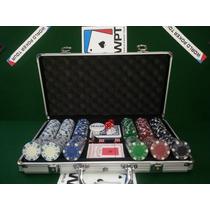 Maletin 300 Fichas Profesionales Poker 11.5 Gramos Cartas