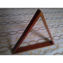 Triangulo D Madera Para Bolas D Pool