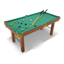 Mesa De Pool Junior La 126 X An 68 X Al 70 Cm 16bolas 2tacos