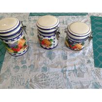 Potes De Cocina Ceramica Decorados