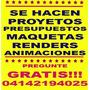 Remodelacion Proyecto Maqueta Presupuesto Animaciones Render