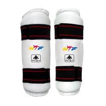 Espinilleras De Vinyl Para Taekwondo Oficial Wtf