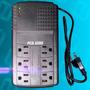 Regulador De Voltaje Protector 6 Tomas 110 Pc Tv Neveras