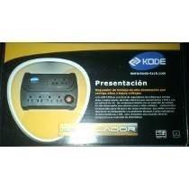 Regulador De Voltaje Kode K-avr 1006 1000va 6 Tomas