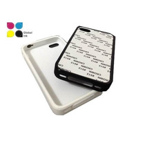 Case Iphone 4 De Goma Para Sublimar Global Ink
