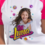 Franelas Soy Luna Disney Luna